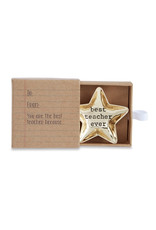 Best Teacher Star Boxed Mini Dish