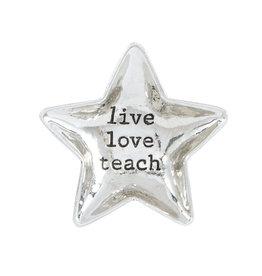 Live Love Teach Star Boxed Mini Dish