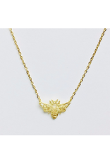 Honeybee Necklace in Gold