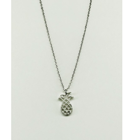 Pineapple Silver in Necklace