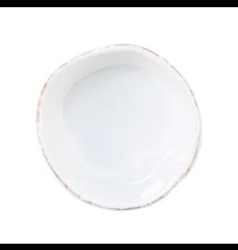 Vietri Melamine Lastra Condiment Bowl White