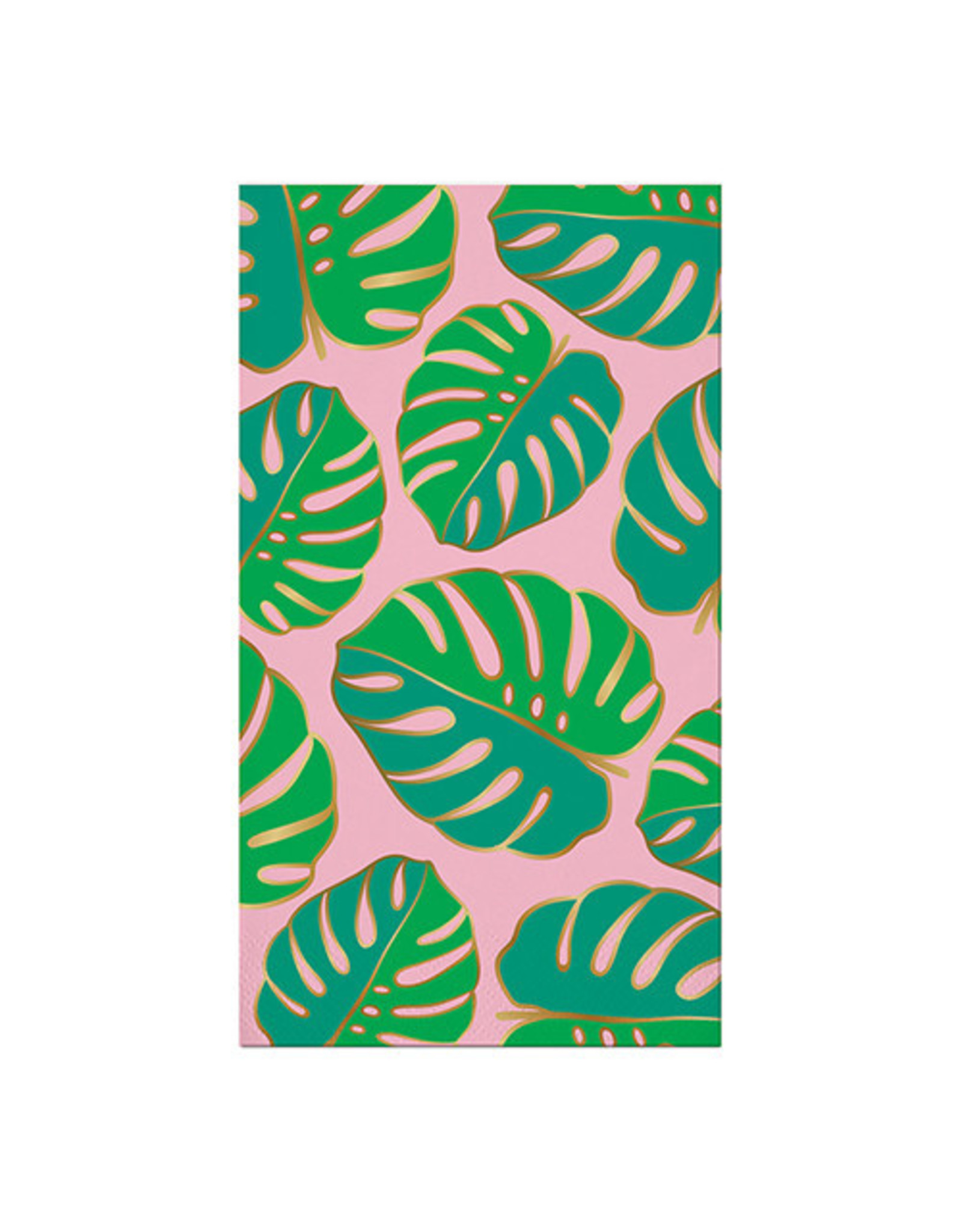 Slant Collections Monstera Leaf Paper Guest Towels