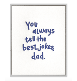 Ink Meets Paper Dad Jokes Card