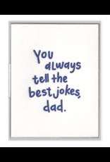 Ink Meets Paper Dad Jokes Card