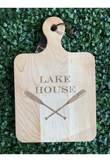 Maple Leaf at Home Lake House 14 x 9 Maple Cutting Board