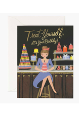Rifle Paper Co. Treat Yourself Birthday Card