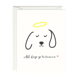 Paula and Waffle All Dogs Go to Heaven Card
