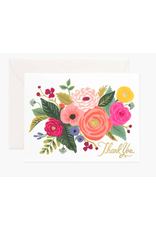 Rifle Paper Co. Boxed Set of Juliet Rose Thank You Cards