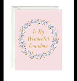 Paula and Waffle Wonderful Grandma Card