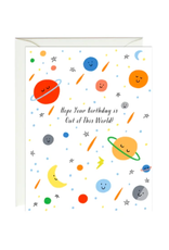 Paula and Waffle Out of This World Card