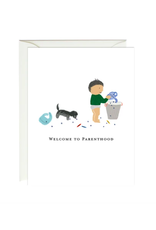 Paula and Waffle Parenthood Card