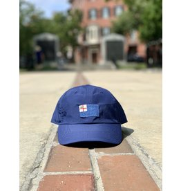 Smathers & Branson Navy Bunker Hill Performance Flag Hat