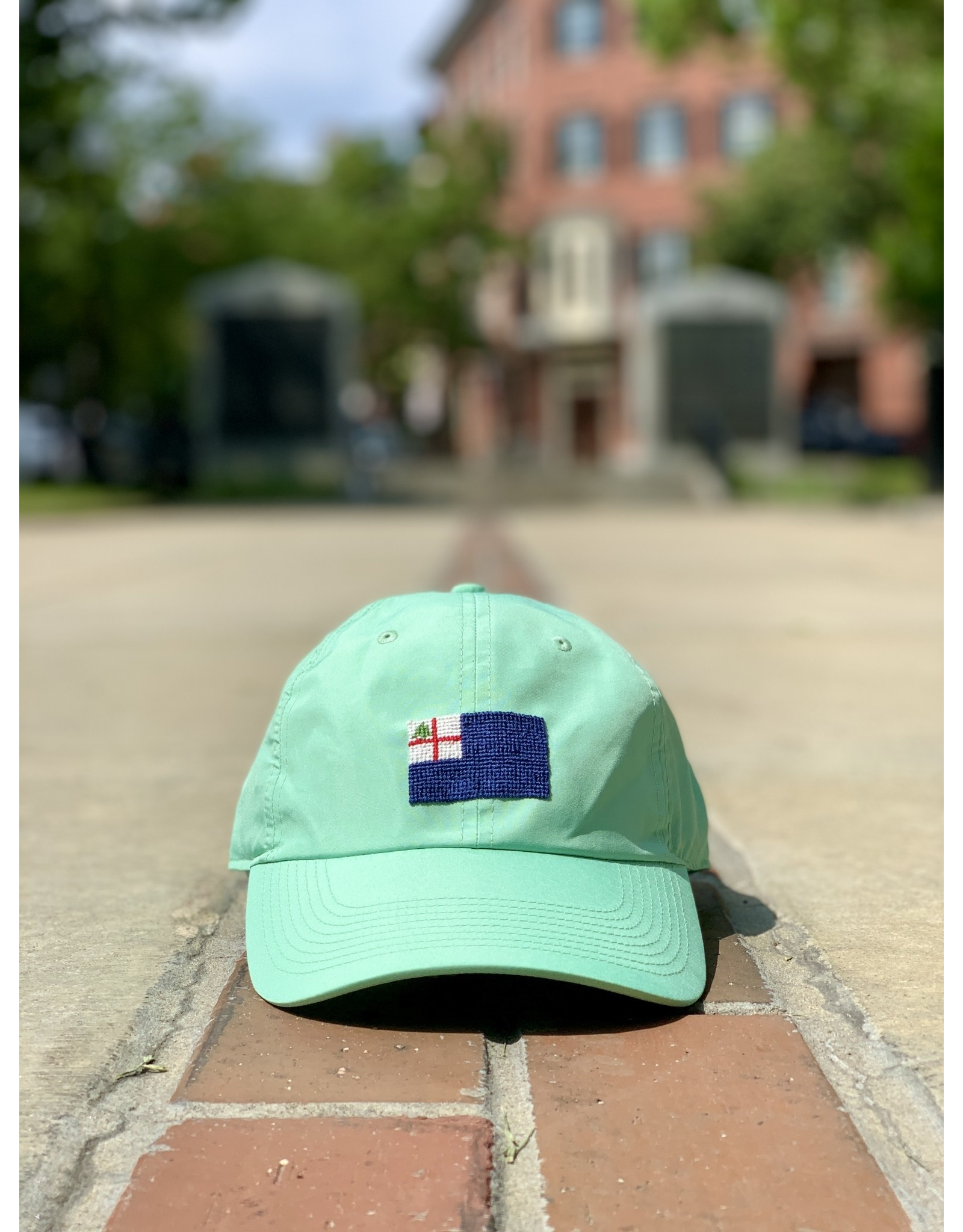 Smathers & Branson Seafoam Bunker Hill Performance Flag Hat