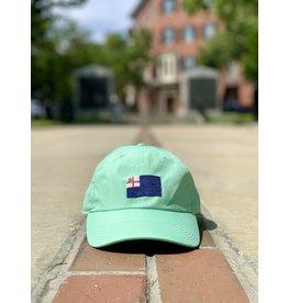 Smathers & Branson Seafoam Bunker Hill Performance Flag Hat