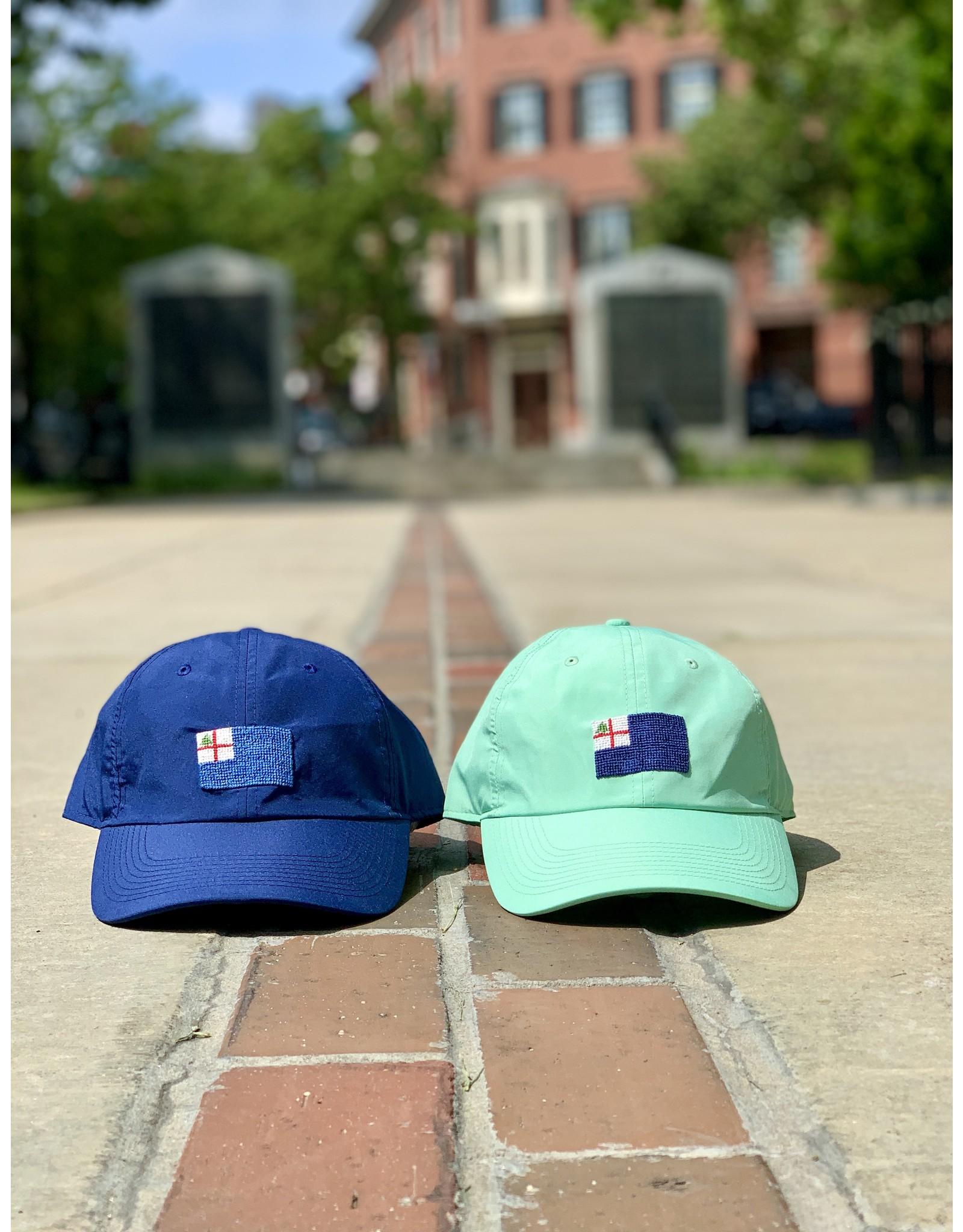 Smathers & Branson Navy Bunker Hill Performance Flag Hat
