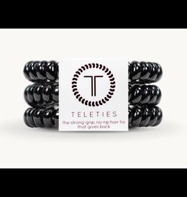 Teleties Small 3-Pack Black Teleties