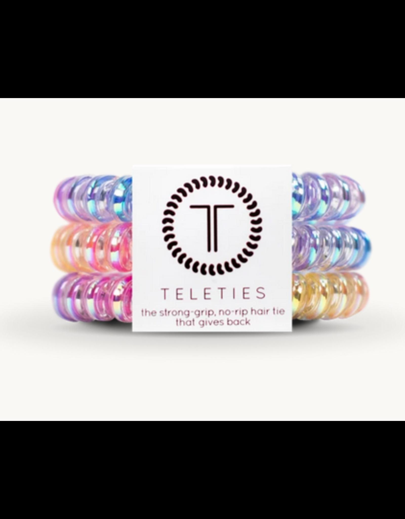 Teleties Small 3-Pack Glitter for Breakfast Teleties