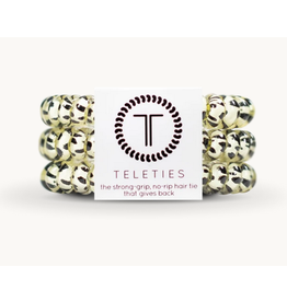Teleties Small 3-Pack Snow Leopard Teleties