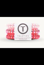 Teleties Small 3-Pack Think Pink Teleties