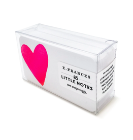 E. Frances Big Heart Little Notes