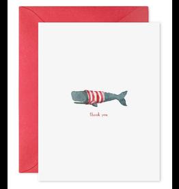E. Frances Whale Thanks Card
