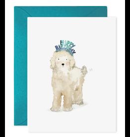 E. Frances Lucy Dog Birthday Card