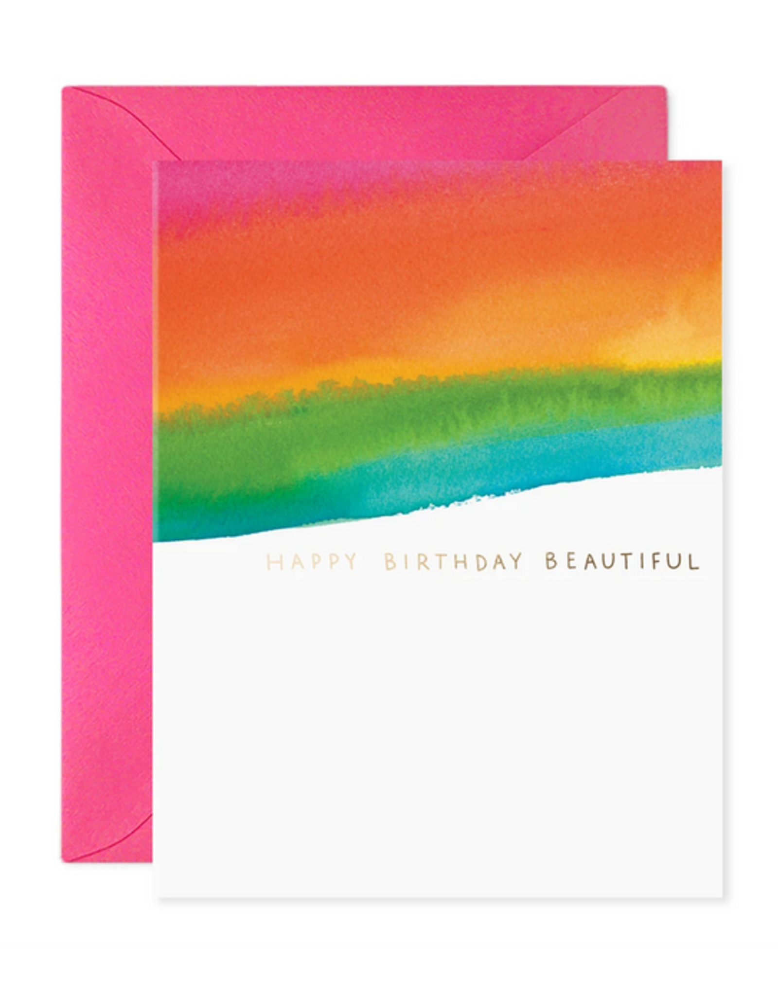 E. Frances Beautiful Birthday Card