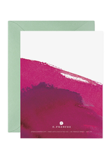 E. Frances Drink Wine Card