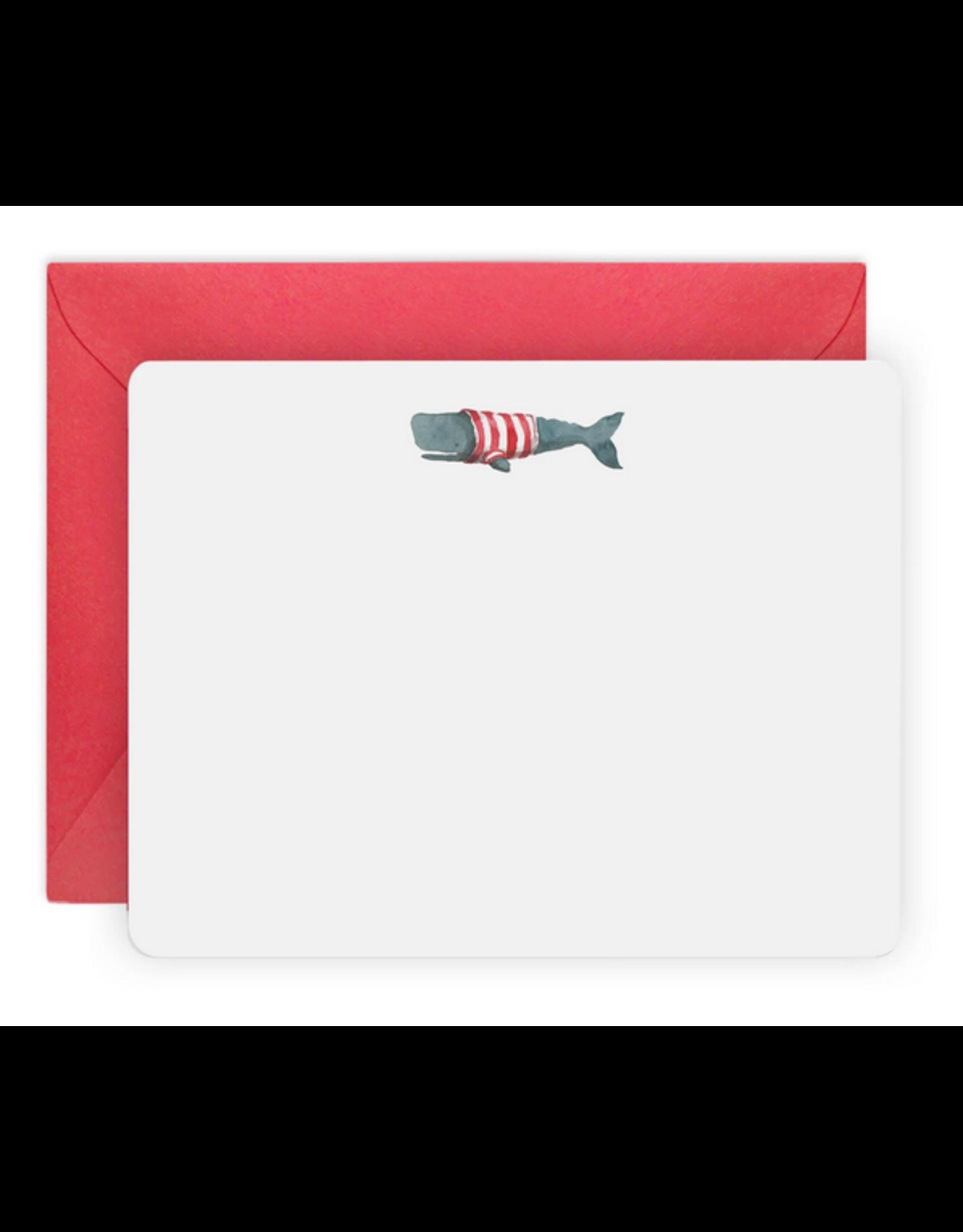 E. Frances Whale Flat Note Set