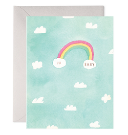 E. Frances Hi Baby Card