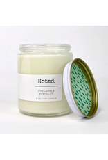 Noted Pineapple Hibiscus Candle