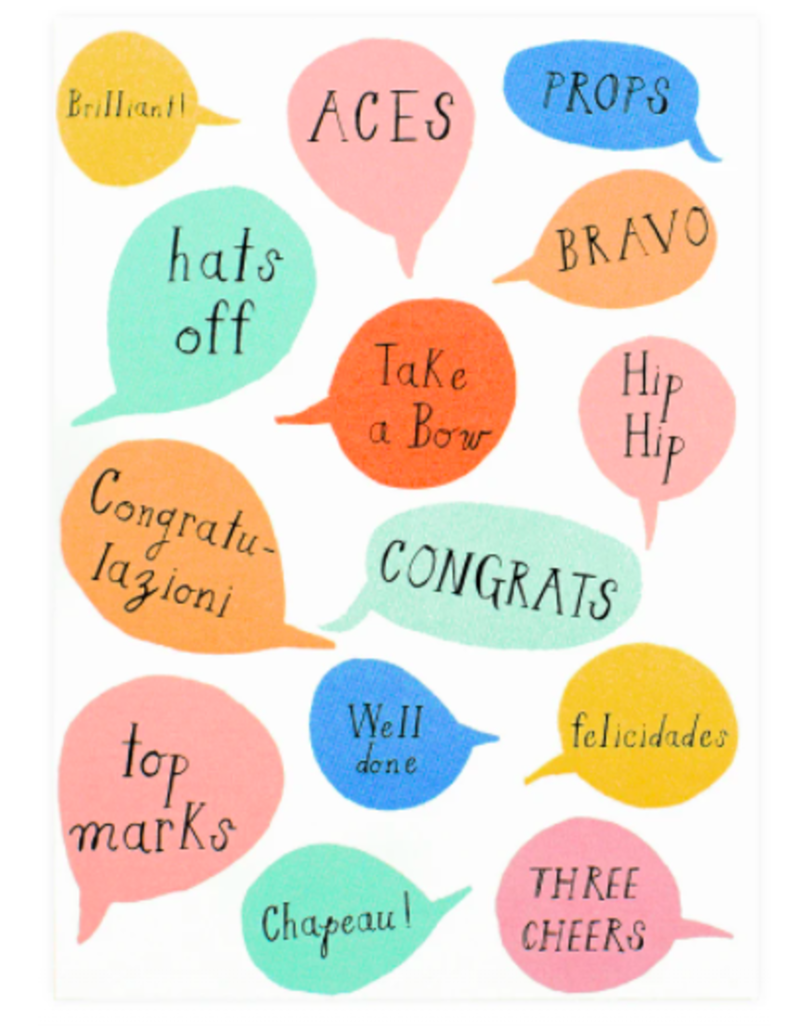 Mr. Boddington's Studio Aces Congratulations Card