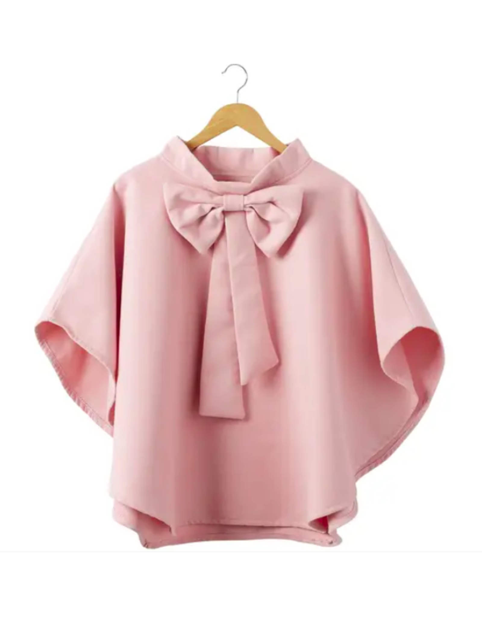 Bow Cape in Pink
