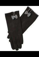 Isla Bow Gloves in Black