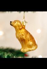 Sitting Golden Ornament