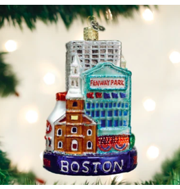 Boston City Ornament