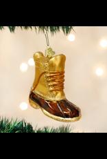 Field Boot Ornament
