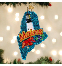 State of Maine Ornament
