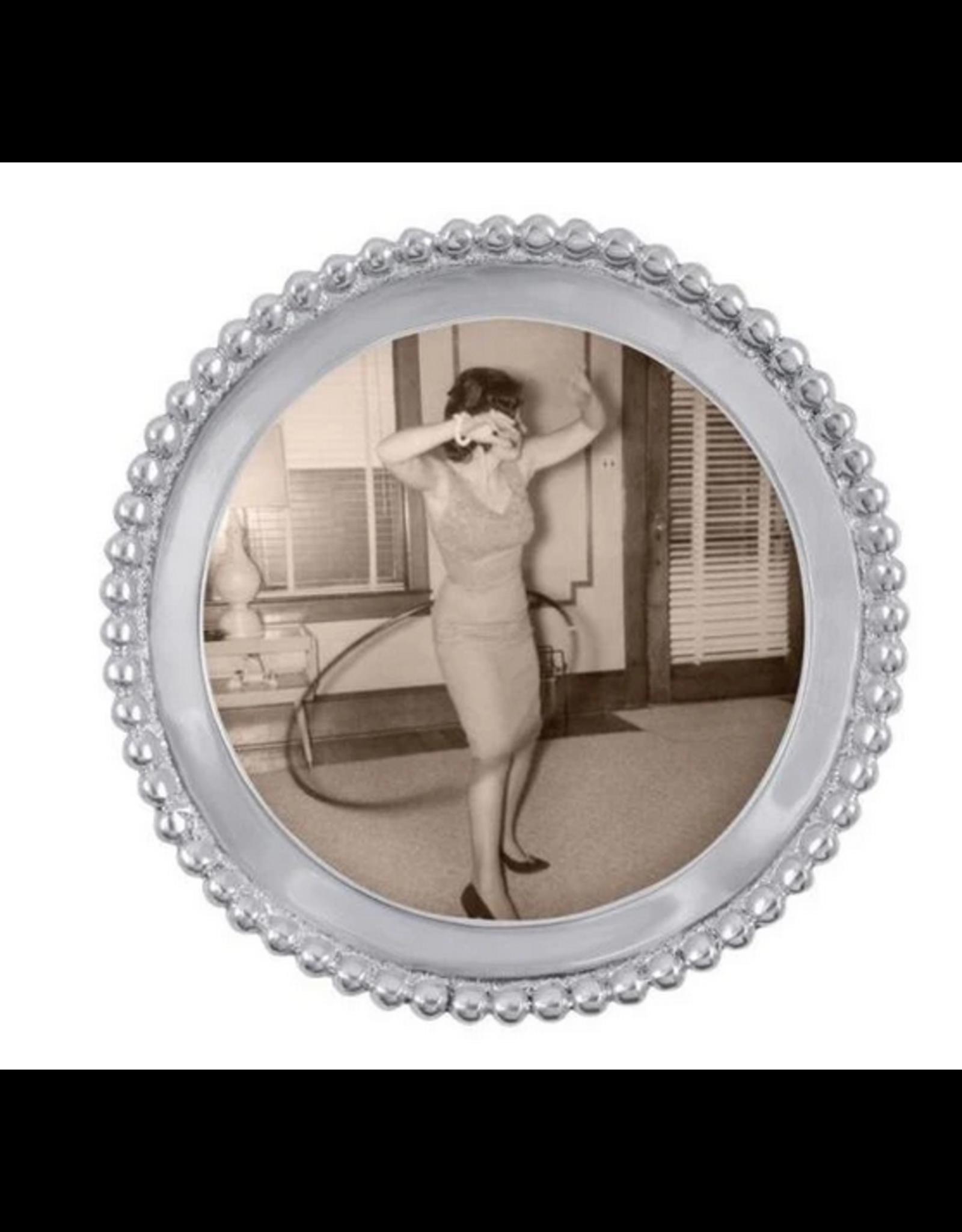 Mariposa Round Beaded Frame