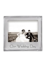 Mariposa Our Wedding Day 5x7 Frame