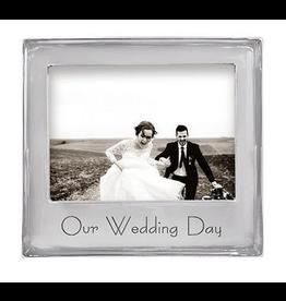 Mariposa Our Wedding Day 5x7 Frame
