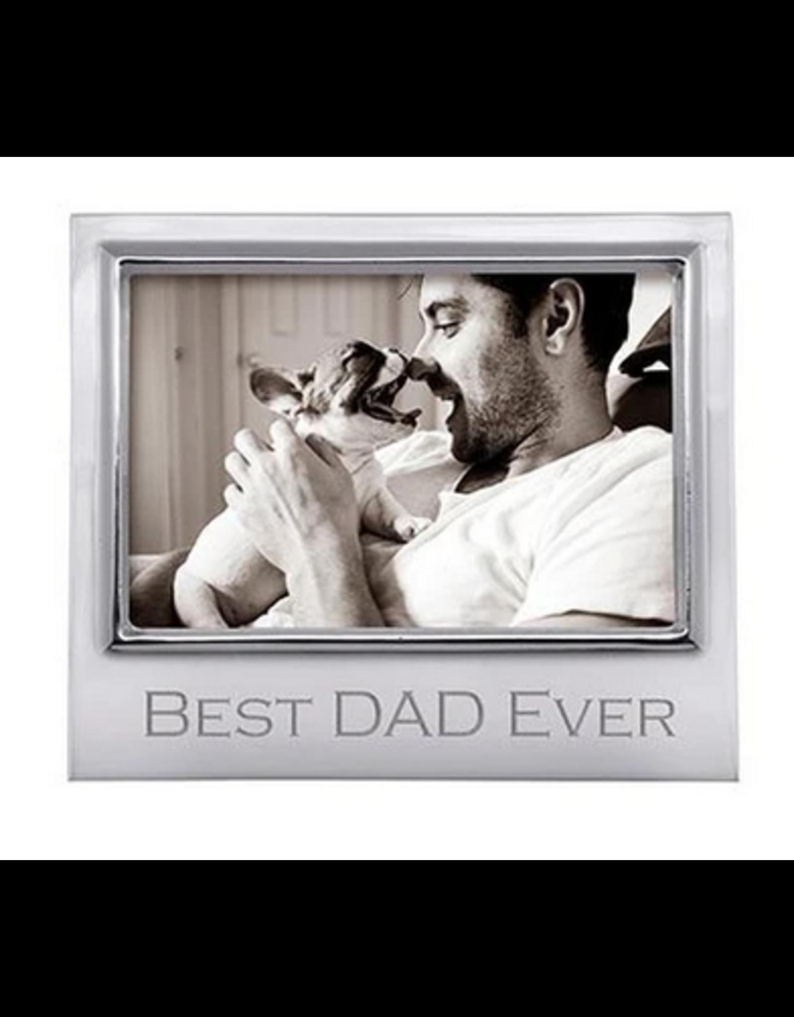 Mariposa Best Dad Signature 4x6 Frame