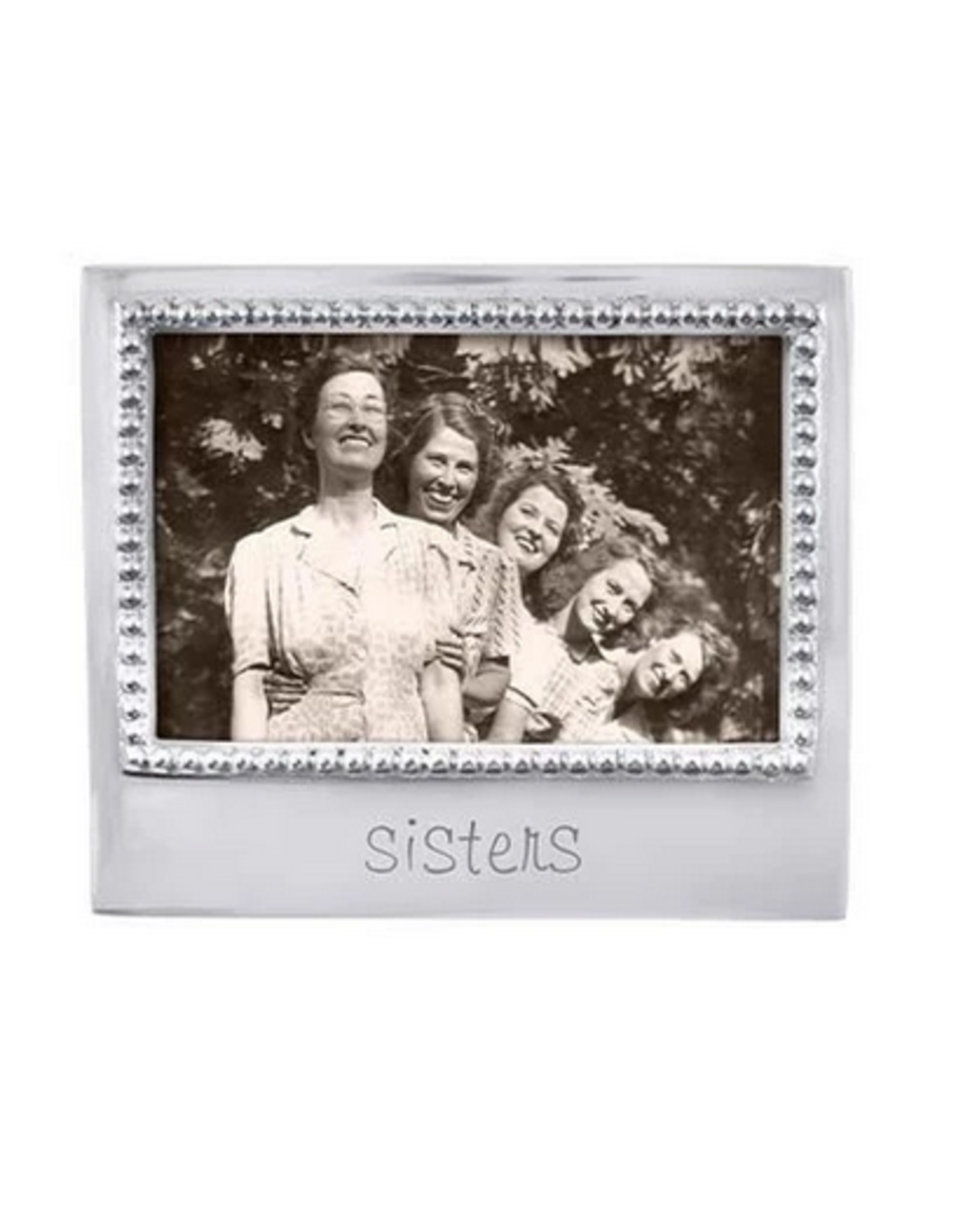 Mariposa Sisters Beaded 4x6 Frame