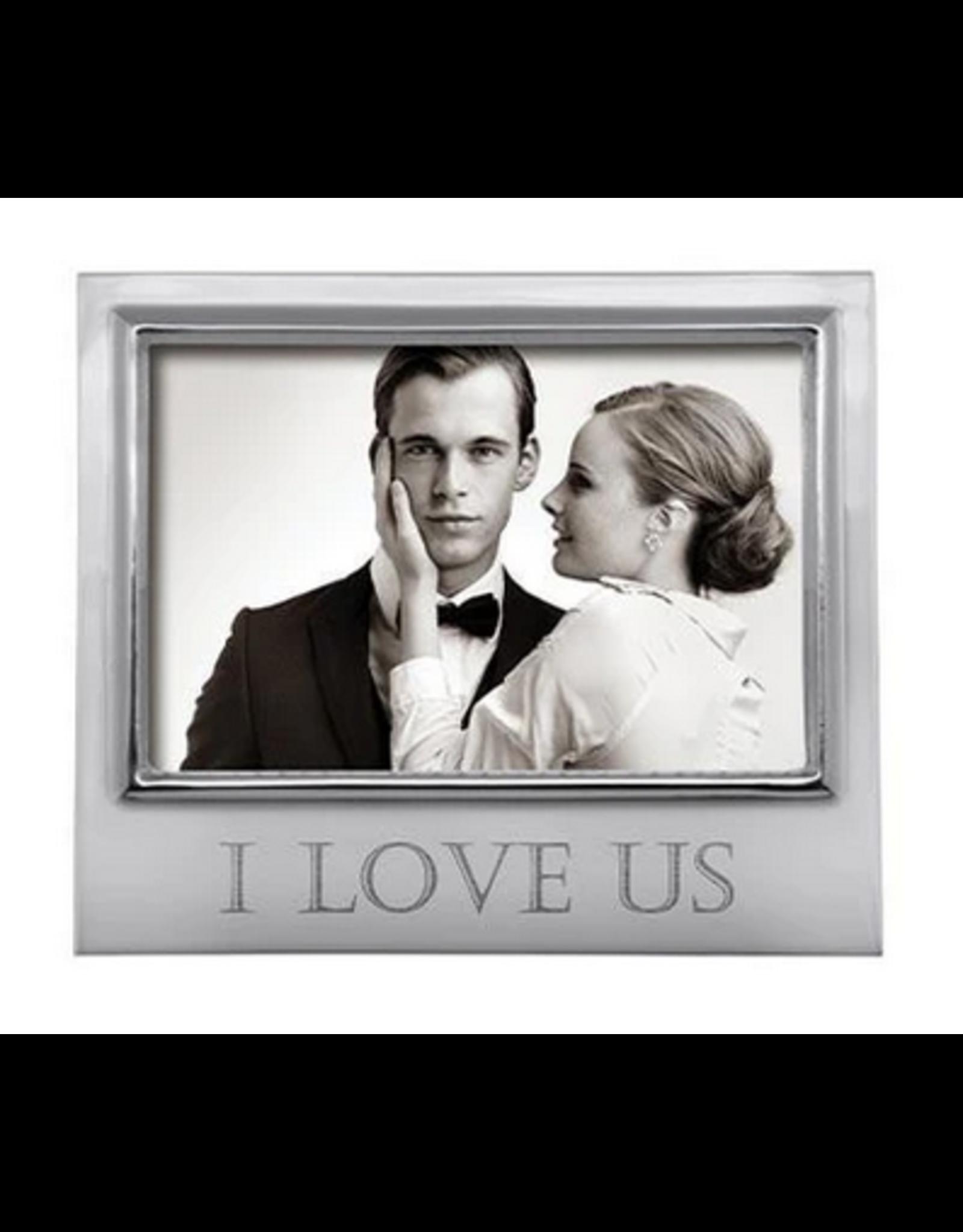 Mariposa I Love Us Signature 4x6 Frame