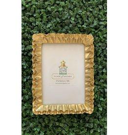 Gold Ruffle 4x6 Frame