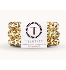 Teleties Small 3-Pack Leopard Teleties