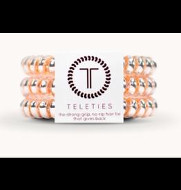 Teleties Small 3-Pack Millennial Pink Teleties