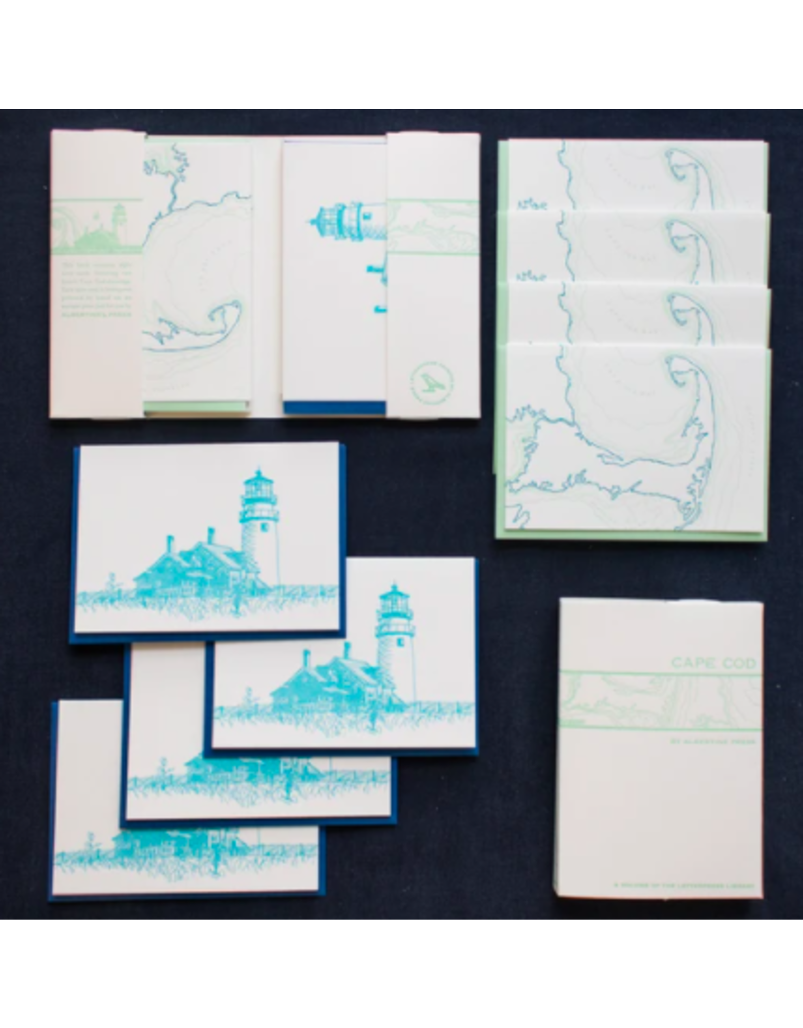 Albertine Press Cape Cod Note Set
