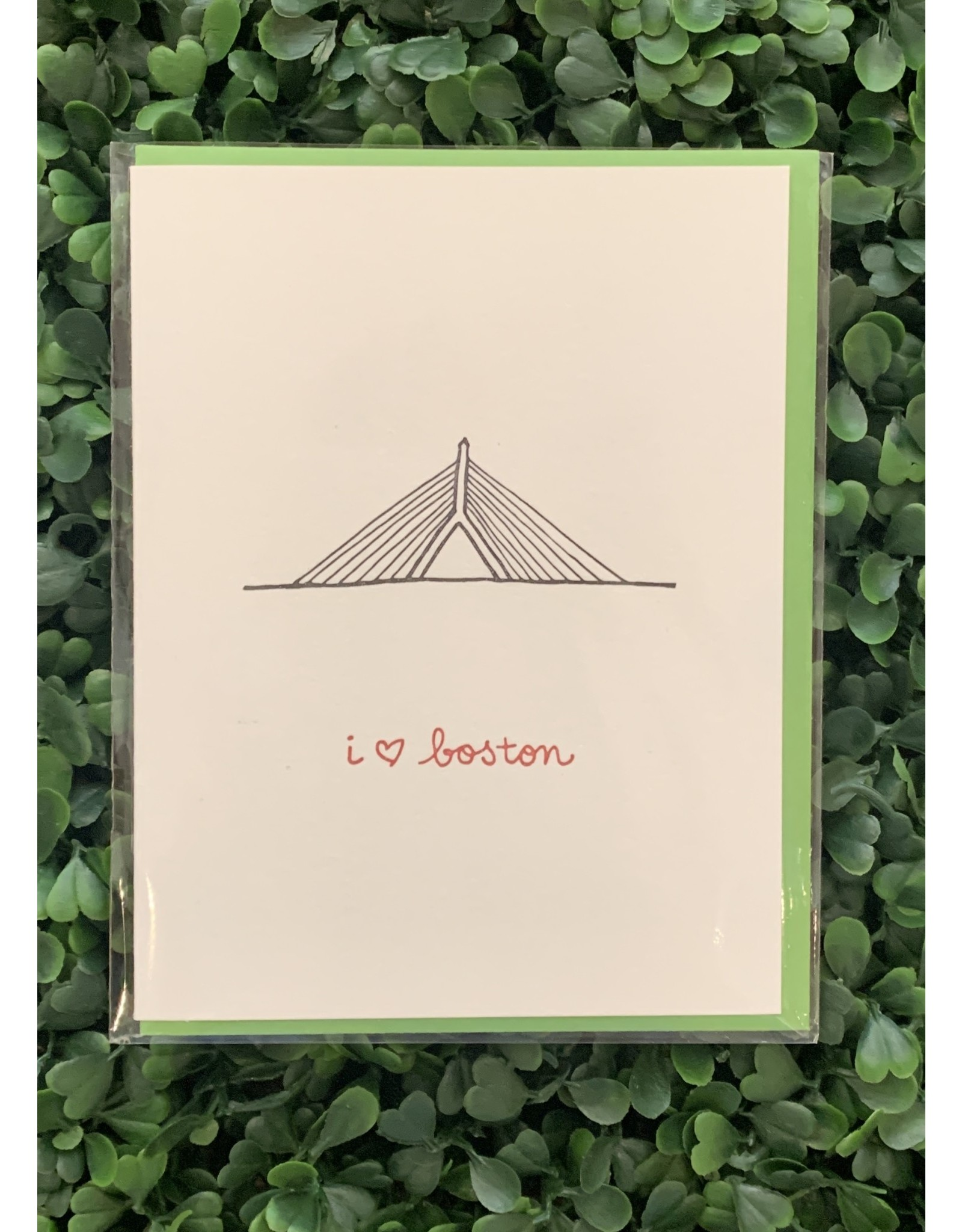 Albertine Press I Heart Boston Card