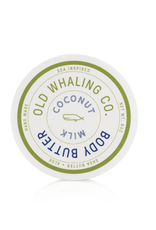 Old Whaling Co. Coconut Milk 8oz Body Butter
